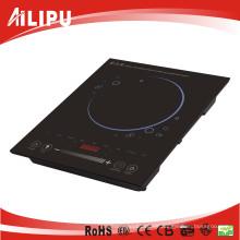 Küchengerät Eingebauter gleitender Sensor Induktionsherd