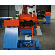 Máquina de formação de tubos para baixo em série