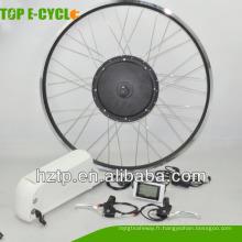 Kit de conversion de vélo électrique de moteur de moyeu à grande vitesse 1000W