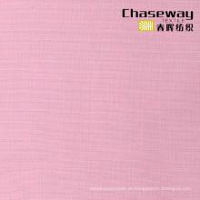 Guangzhou Atacado 100% algodão liso tingido tecido tecidos de vestuário
