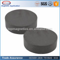 "C8 Dia 3/4"" x 3/16"" Strong Flat Round Black Ferrite Disc Magnets Disc Ceramic Fridge Magnets"
