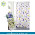 PEVA Custom Printed Waterproof Shower Curtain