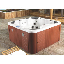 Banheira de massagem ao ar livre acrílica de 7 pessoas (JL982)