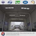 Taller de estructura de acero prefabricado
