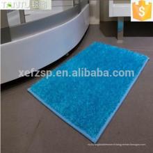 matériel de polyester fabricant de porcelaine tapis de bain
