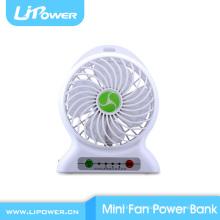 5v Multifunktions-Lithium-Batterie-Kraftwerk Mini-USB-Ventilator für Reise