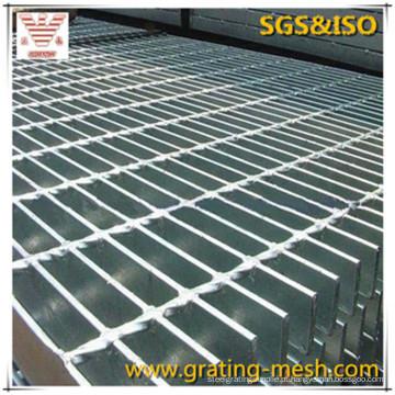 Grade de barra / galvanizada / grade de aço para construção