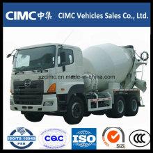 Camión mezclador de concreto Hino 8-12 M3 6X4
