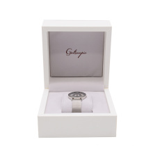 High Quality Custom Packing Box Logo Luxury wooden+specialty paper+plastic+velvet Packing Oem Package Carton Watch Box