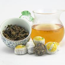 Sabor Chá Pu Erh Crisântemo gosto Mini Sheng Puer