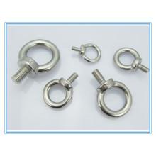 Parafuso de olhal de levantamento de aço inoxidável / parafuso de balanço (DIN580)