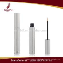 AX15-68 Tubo del eyeliner vacío redondo redondo redondo de plata brillante