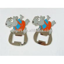 Ouvre-bouteille en métal animal