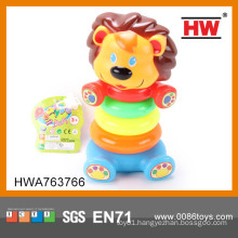 Funny Plastic Baby Bath Set Baby Stacking Rings Toys