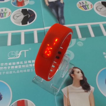 Personalised LED Screen Silicone Watch Bracelet