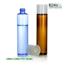Bouteille chaude d'animal familier de toner de la vente 100ml 120ml pour l'emballage cosmétique