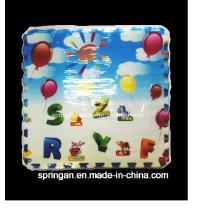 EVA Matte: Frucht Buchstaben Mosaik EVA Matte 6PCS Spielzeug