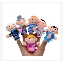 Dedo de la familia muñeca