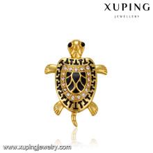 33115 xuping jewelry fashion 24k gold plated fashion turtle animals pendant