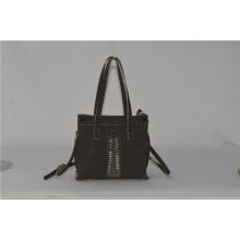 Últimas Designer Trapeze Handbags com Front Woven Zxk1502