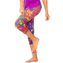Active Capri Legging in Funky Galaxy Crp-009
