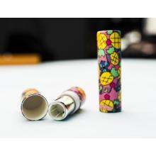 Tubos de protetor labial kraft ecológico tubo de batom