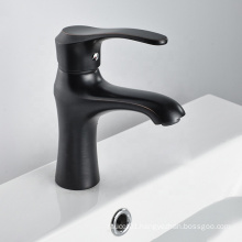 Innovative products single handle chrome basin sink mixer tap black wash basin faucet