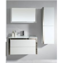 Wood Panel Furniture Bathroom Cabinet Vanity