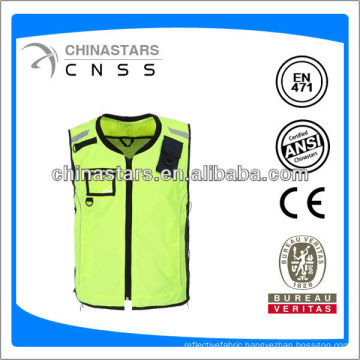 fashion riding safety jacket with ID pocket