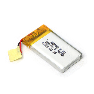Qualité stable Batterie 422035 3.7V 250mAh Lithium Polymer