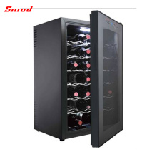 24 Bottles Touch Screen Door Humidity Control Wine Cooler