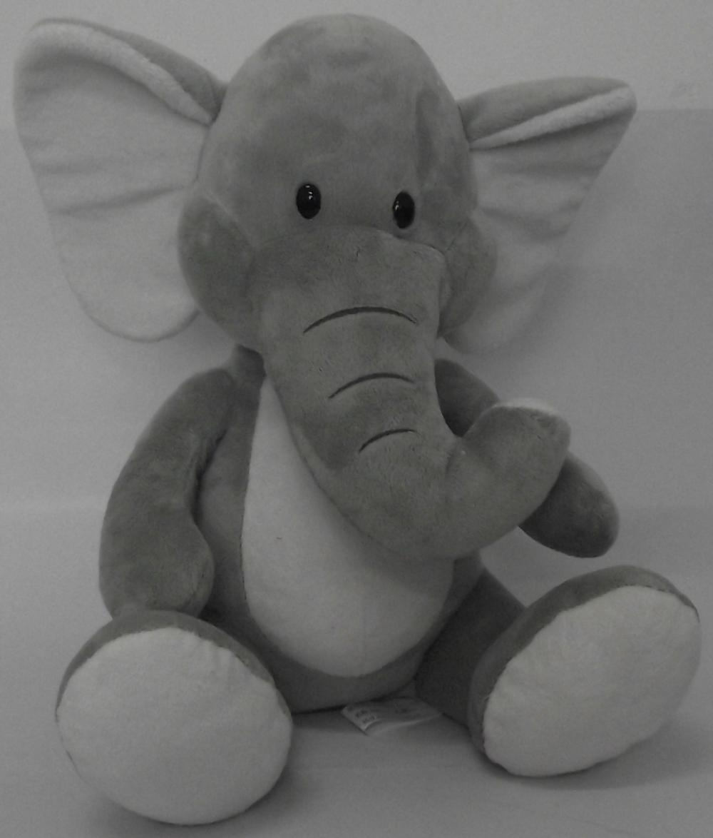 The African elephant doll mascots birthday gift