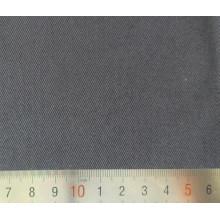 Sarja de algodão poliéster preto tela tecida