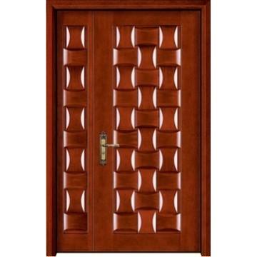 porta de madeira de um ano e meio