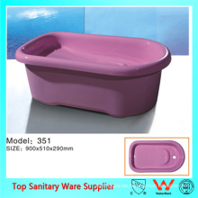 tamaño medio duradera mini bañera de pie permanente para productos para bebés