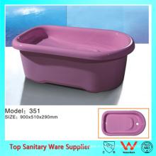 baignoire de taille moyenne durable durable de taille moyenne pour le produit de bébé