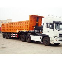 40 Cubic Meter Dump Trailer Truck Dumper