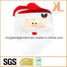 Qualität Weihnachtsküche Dekoration Red Santa Stuhl Abdeckung