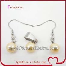 Горячая Распродажа мода серьги и ожерелье комплект ювелирных изделий