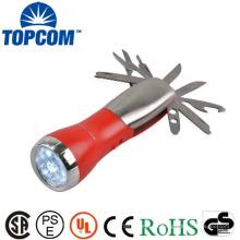 Conjunto de ferramentas com lanterna