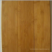 Plancher en bambou carbonisé vertical de 15 mm