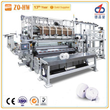 Zq-Hw Fully Automatic Low Investment Paper Width 2800mm 400m/Min Mini Jumbo Roll Tissue Paper Making Machine with Embossing/Lamination/Perforating