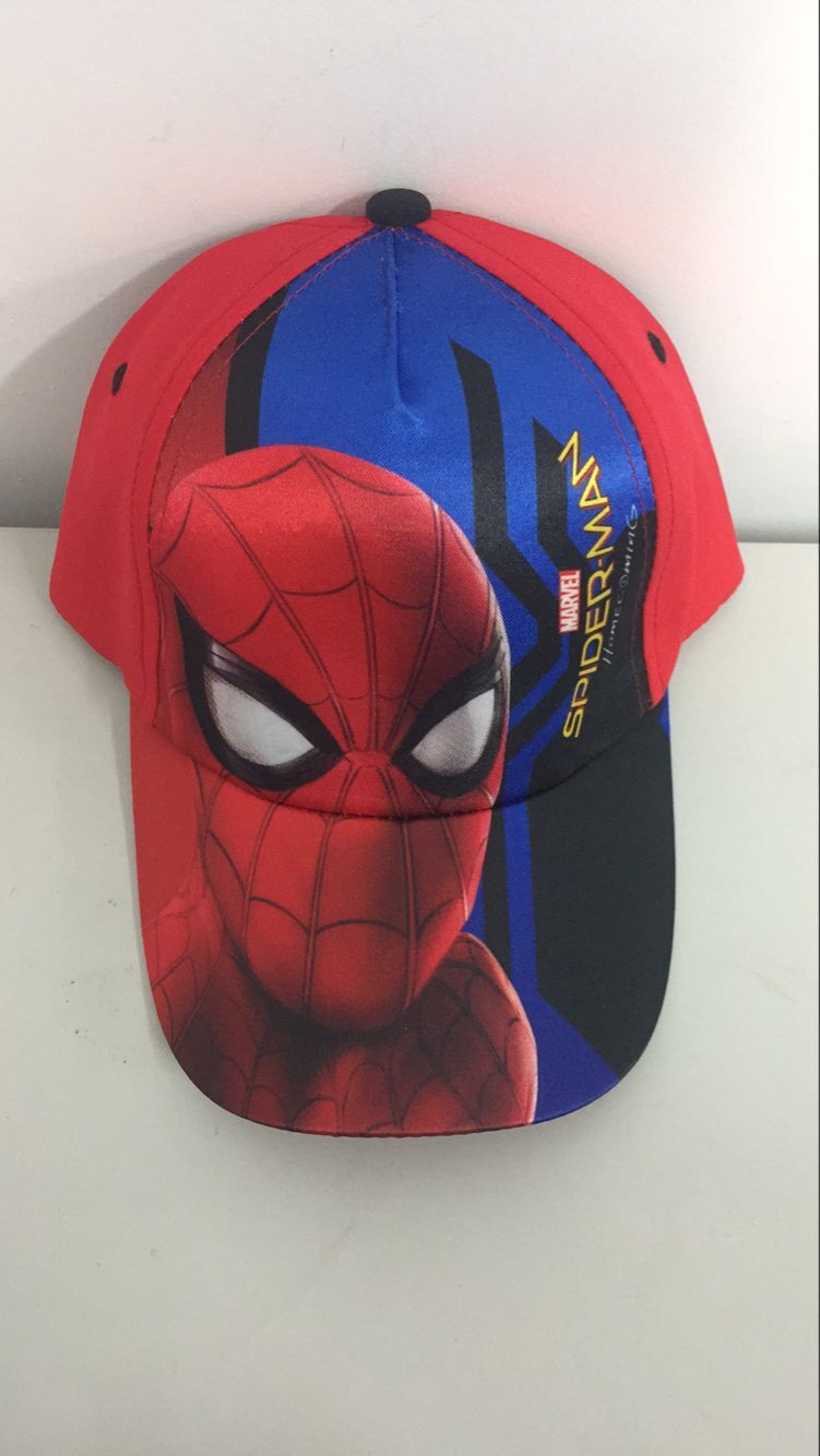 Sublimation Polyester Spiderman Baseball Cap 3