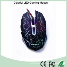 Ergonomisches Design 6 Buttons Optische Gamer Maus (M-65-1)
