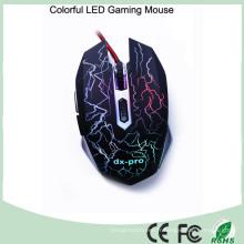 Design ergonomique 6 boutons souris optique pour gamer (M-65-1)