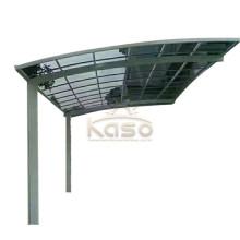 Telhado de policarbonato cobertura sólida estacionamento abrigo