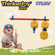 Educational Building Block Gun Mould Toys for 3-6 Children