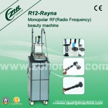 Monopolar RF rosto Lifting Enrugamentos Remoção Face Shaping Cuidados com a pele