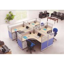 Divisórias de mesa de partição de mesa kintop Divisórias de escritório de estilo popular da Europa para estilo KW920