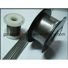 Stright de fio de titânio de alta qualidade ou laminados